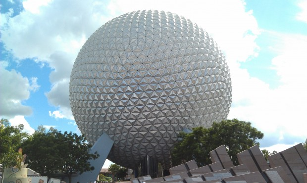 One last Spaceship Earth picture on the way out.  Time to head back to the Riverside to catch the Magical Express