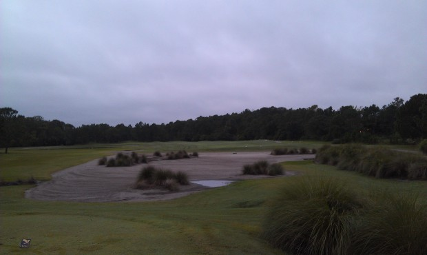 Osprey is using the old Eagle Pines #1 due to Four Seasons construction on #18