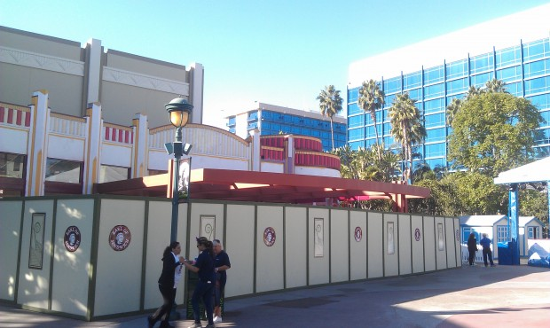 Painting go on at Earl of Sandwich