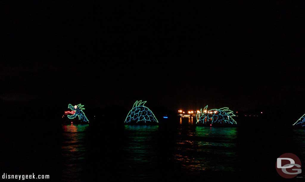 The Electrical Water Pageant passing by