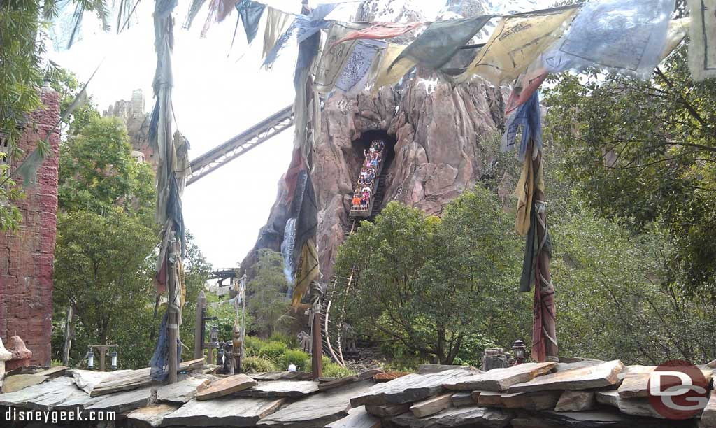 Walked by Expedition Everest