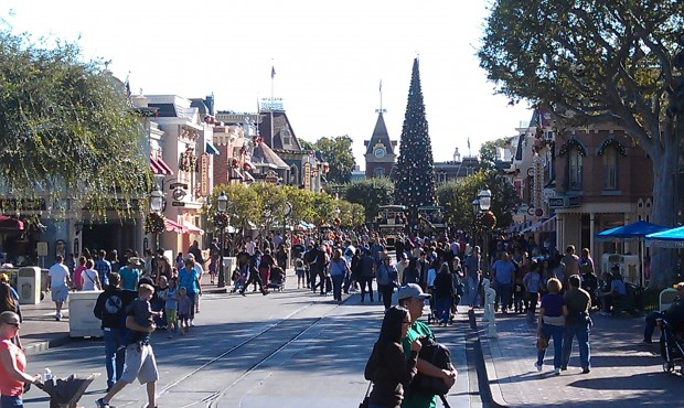 A look down Main Street USA