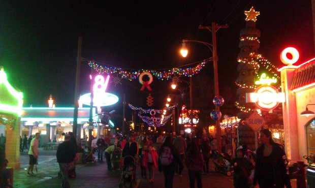 A look down Route 66 in #CarsLand