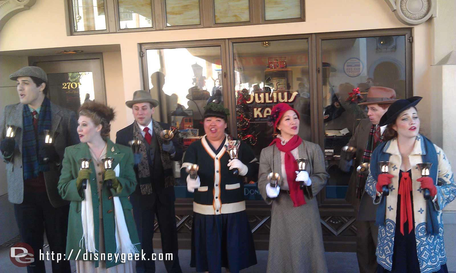 Buena Vista Street Community Bell Ringers