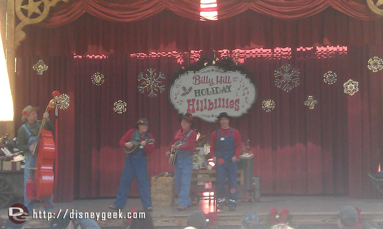 Checking in with the Holiday Hillbillies