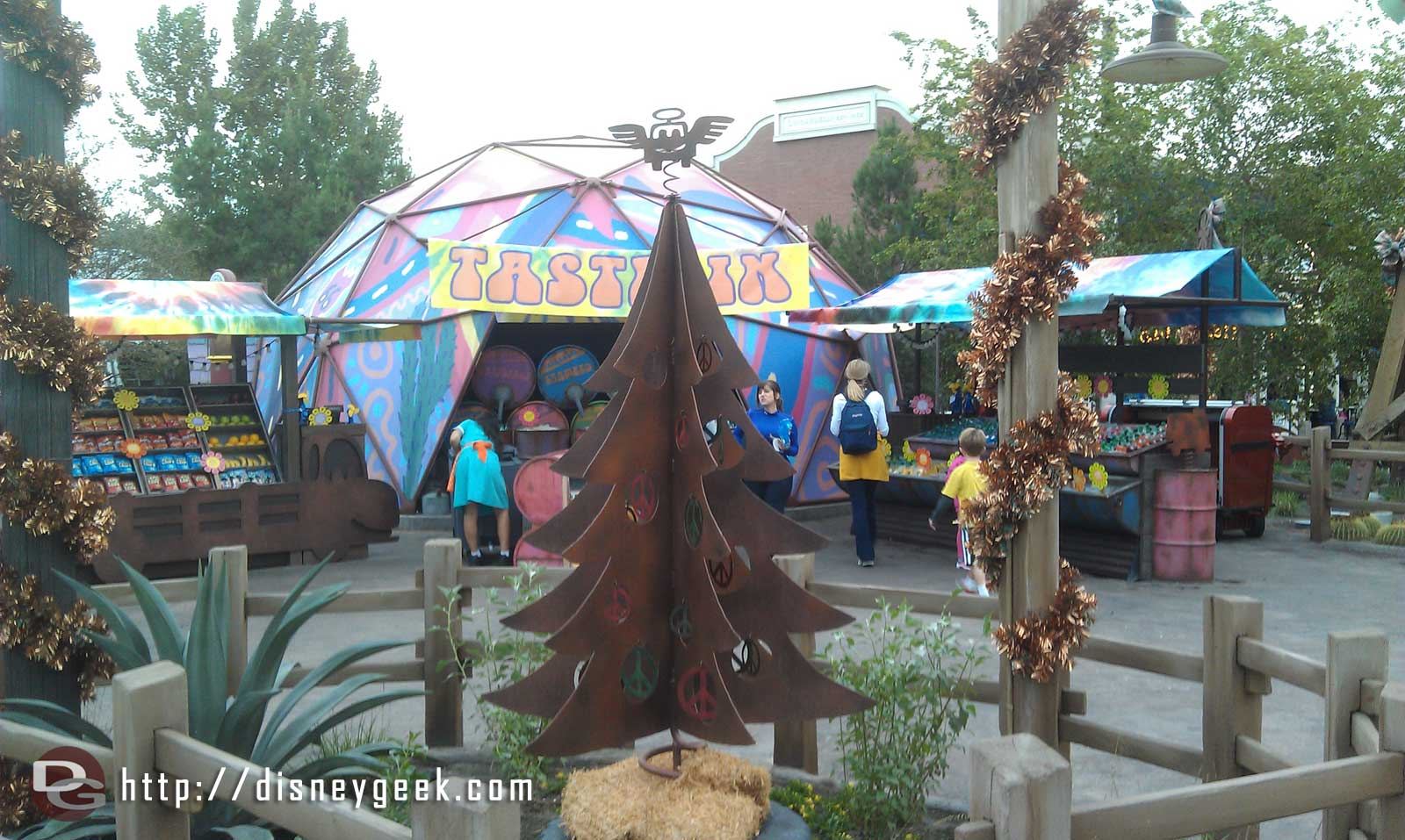 Fillmores tree in #CarsLand