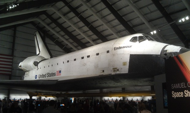 Not Disney but thought you might enjoy, the Space Shuttle Endeavor @ California Science Center