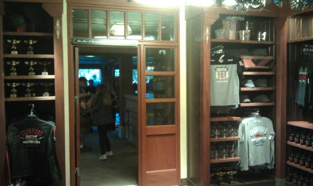 Ramones garage is open today.  The gift shop has been extended to use the original Fastpass area.