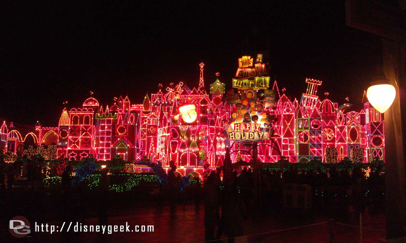Small World Holiday is open for the season.