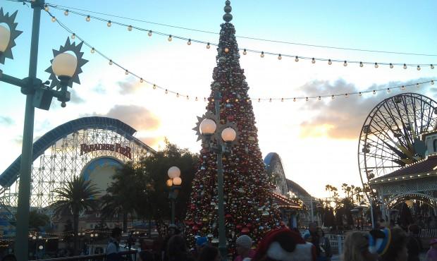 The Paradise Pier tree