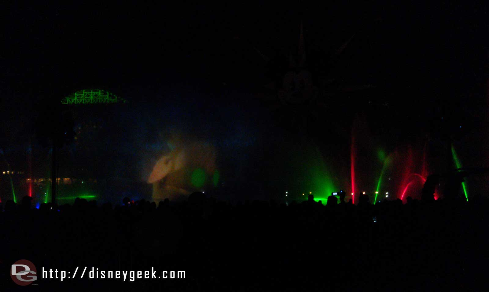 The Prep and Landing crew open World of Color