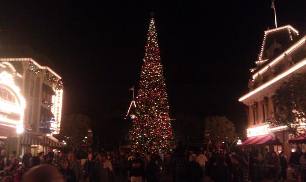 over to Disneyland.  The tree on Main Street USA
