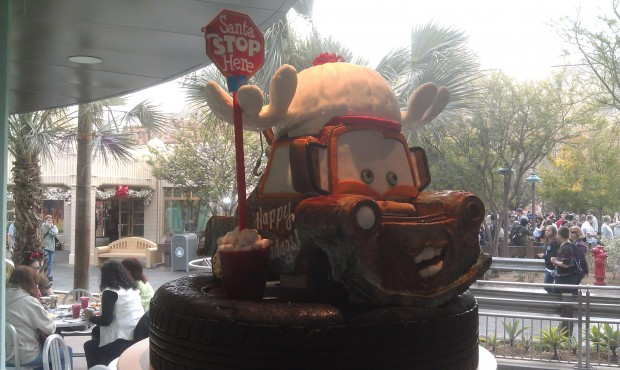 A gingerbread Mater in Flos