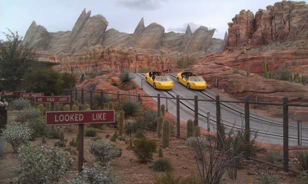 A little cool and overcast this afternoon in Radiator Springs