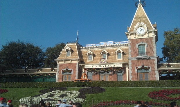 Just arrived at the #Disneyland Resort.  First stop today, Disneyland.