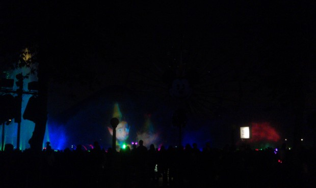 Prep and Landing intro for World of Color