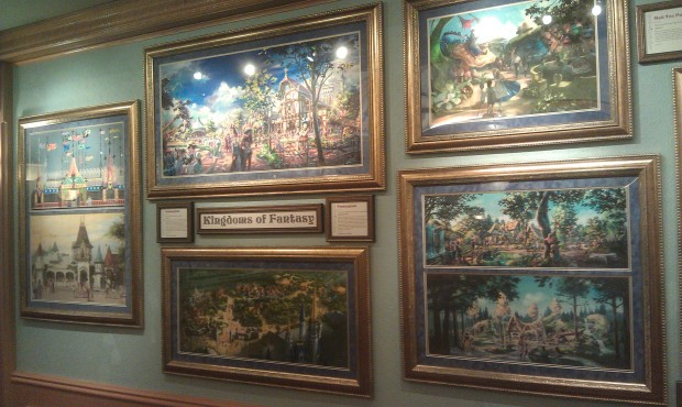 Realms of Fantasy opened at the Disney Gallery on Main Street last week.