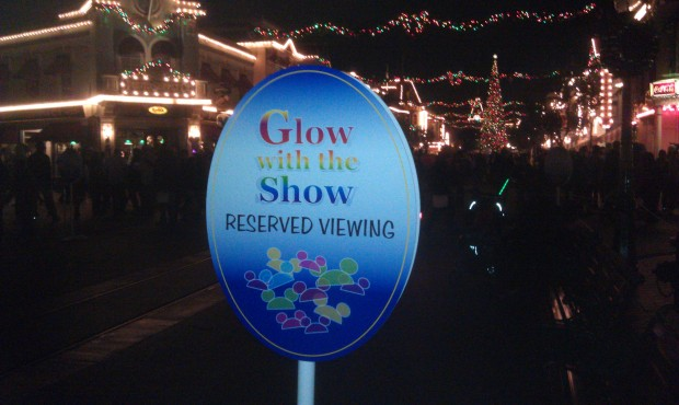 Reserved viewing for Believe if you are wearing glow with the show ears