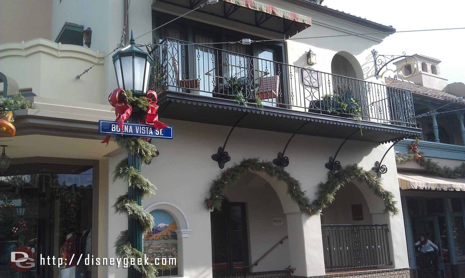 Stepping onto #BuenaVistaStreet to start my afternoon at the #Disneyland Resort