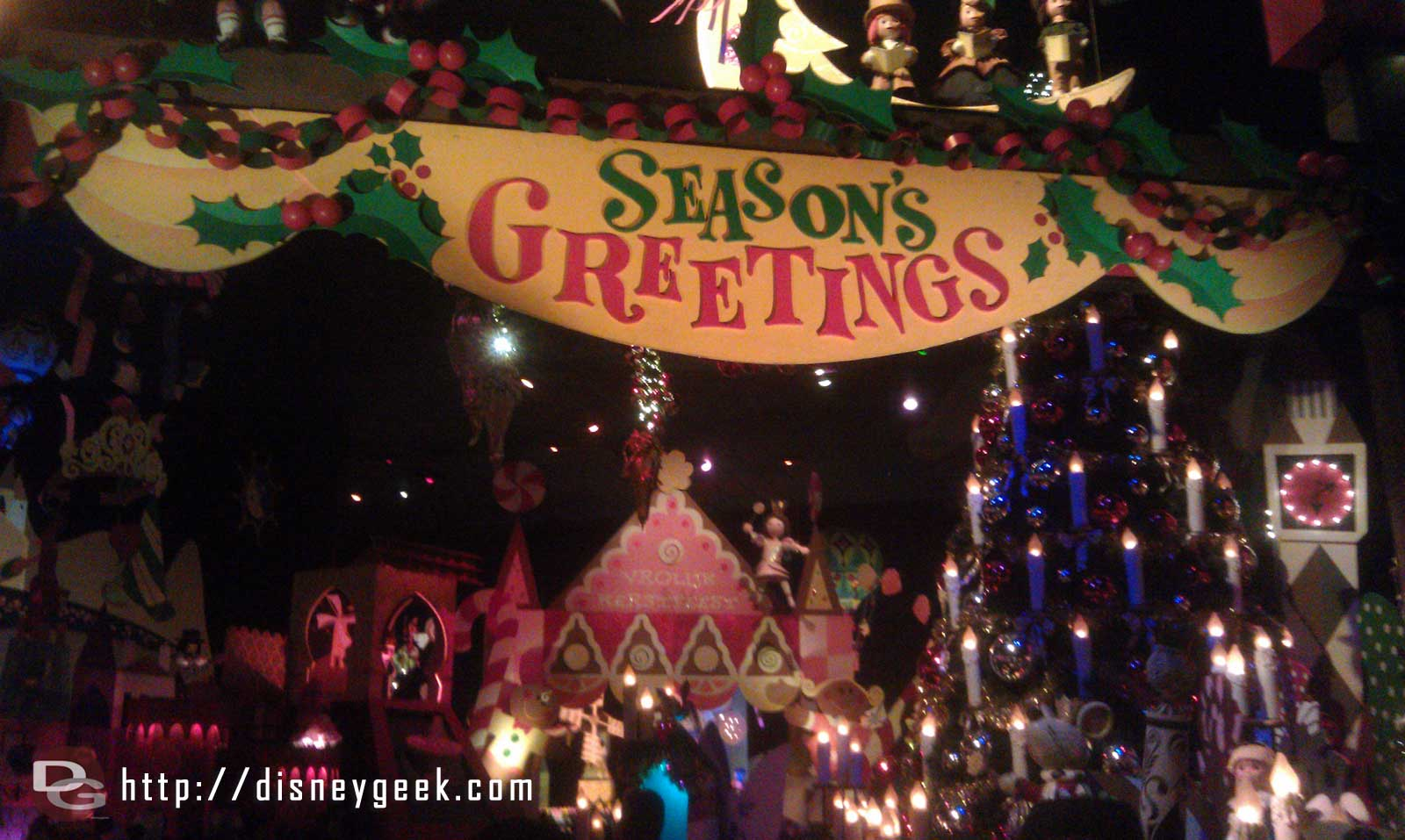 Taking a trip through Small World Holiday
