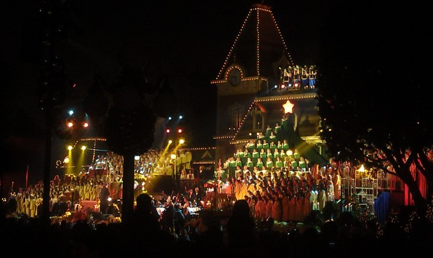 The Candlelight ceremony, tonight Edward James Olmos is the guest narrator.
