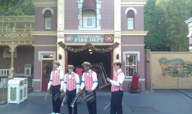 The Dapper Dans of Disneyland