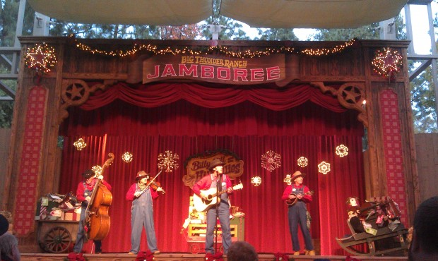 The Holiday Hillbillies at the Jingle Jangle Jamboree
