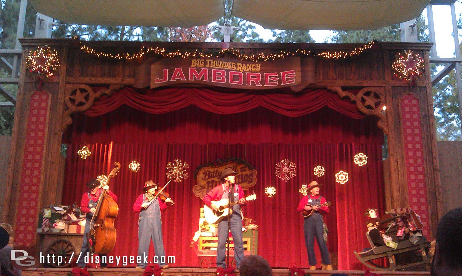 The Holiday Hillbillies at the Jingle Jangle Jamboree