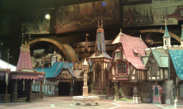 Another view of the Fanrasy Faire model in the Blue Sky Cellar