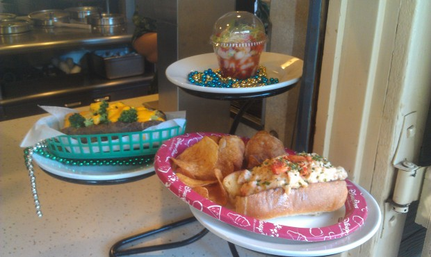 Harbour Galley has Lobster Roll and Shrimp Cocktail for the Bayou Bash