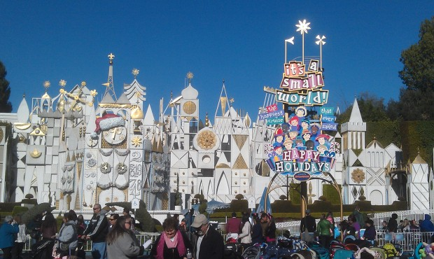 If you are still in a holiday mood you can experience Small World Holiday for a couple more weeks.