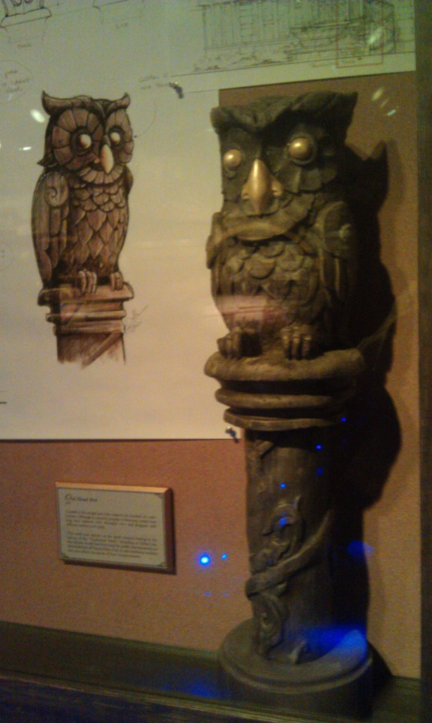 Owl Newel Post