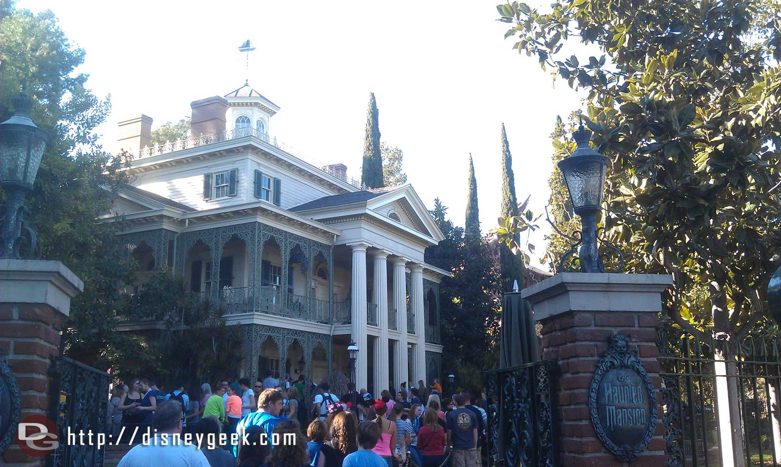 The Haunted Mansion has reopened.