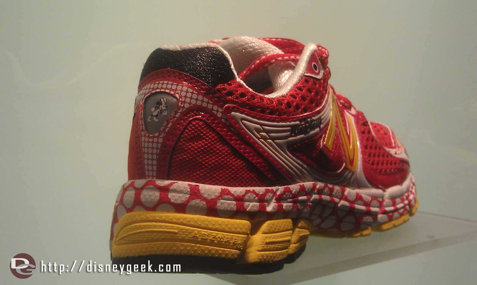The new Run Disney shoes are on display