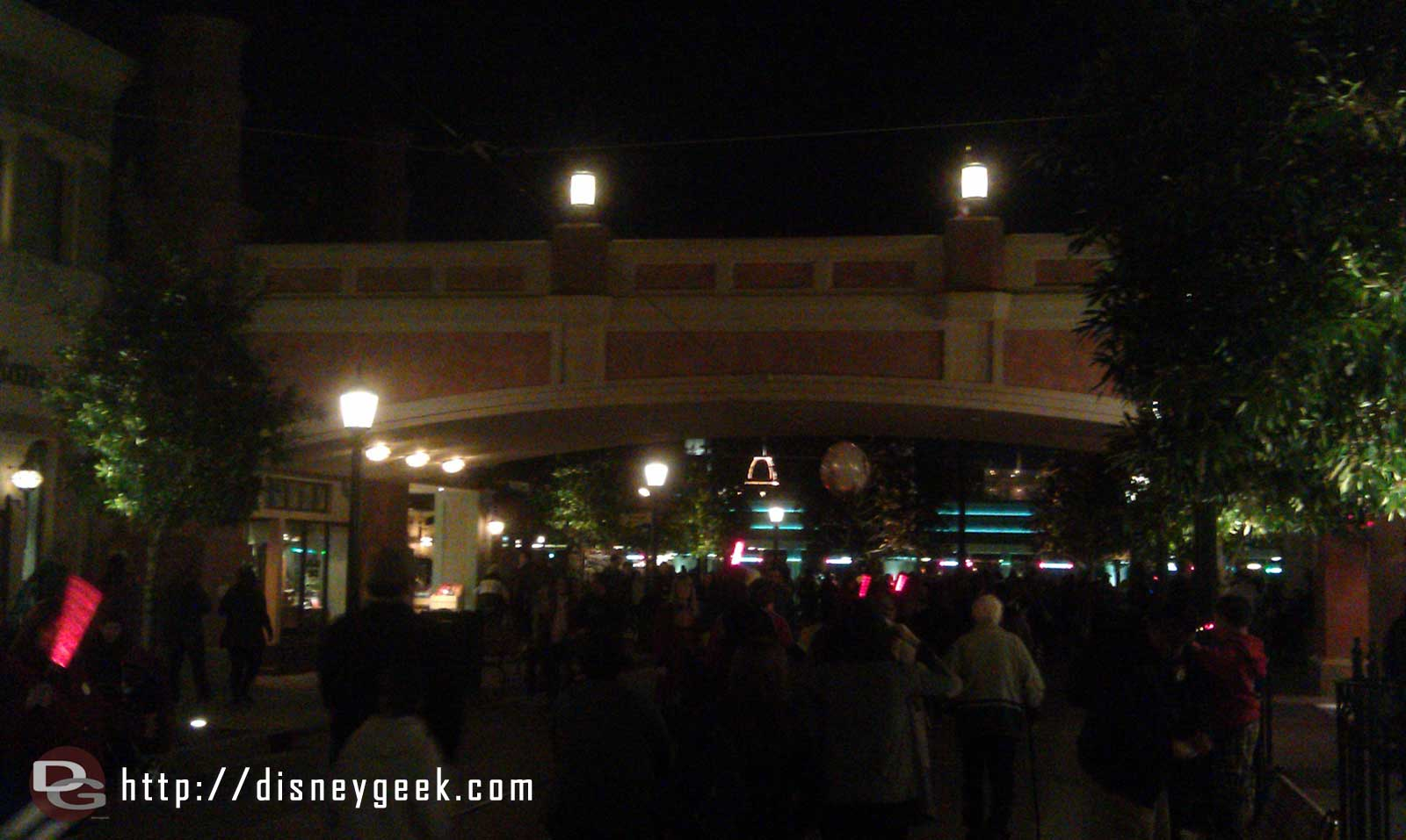Time to head for home, one last look at the Hyperion Bridge on #BuenaVistaStreet