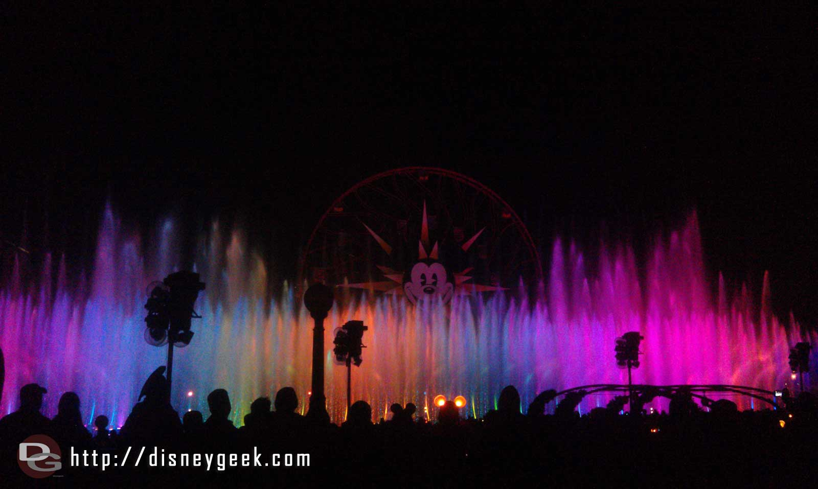 World of Color  FYI Prep and Landing preshow still running this weekend