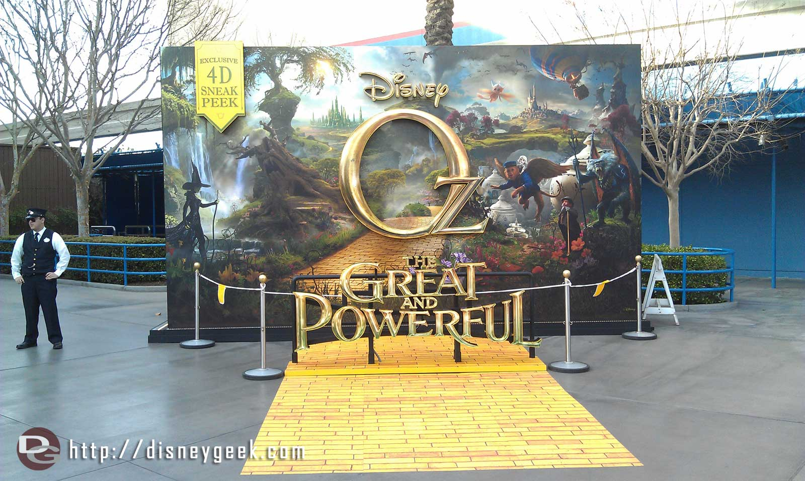 A photo op for Oz in HollywoodLand