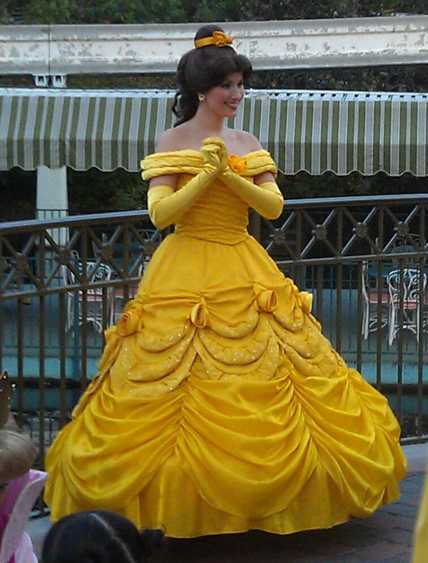Belle at the Princess Royal Walk tonight