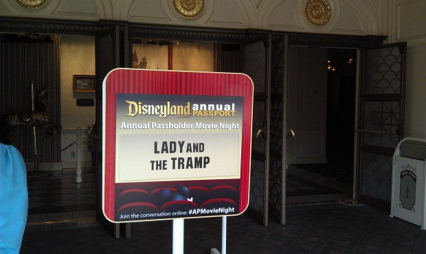 Lady and the Tramp playing in the Main Street Opera House tonight for #APMovieNight
