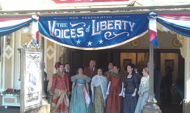 Liberty Week with the Voices of Liberty is going on