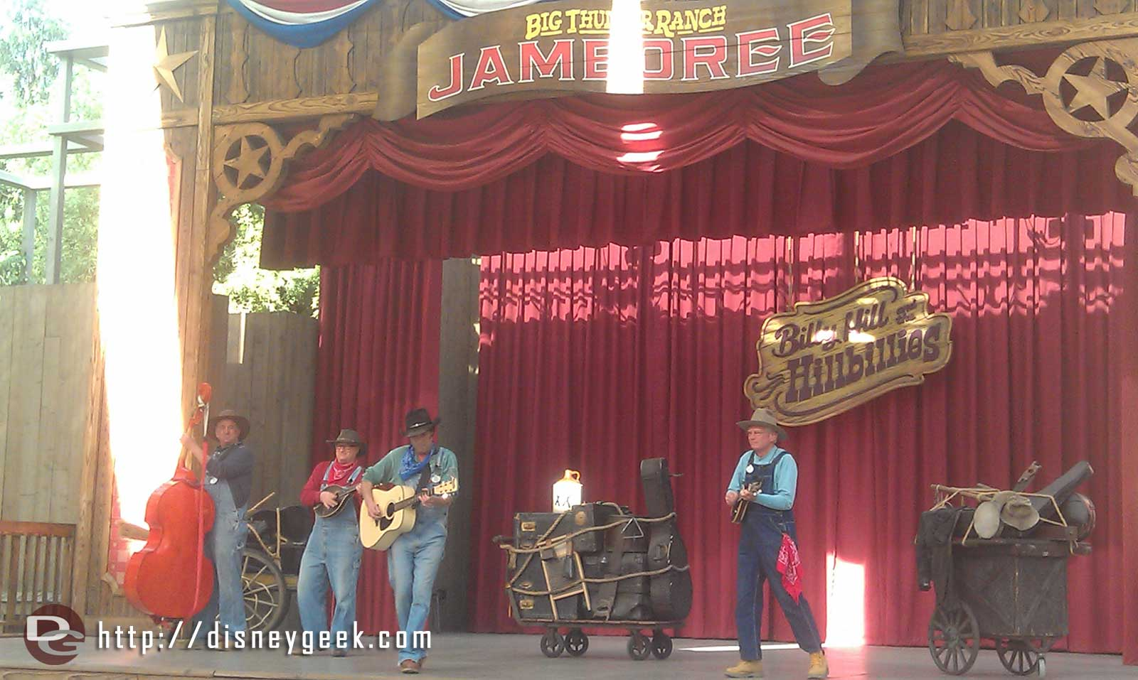 Stopped by the Big Thunder Ranch Jamboree to catch the Billies
