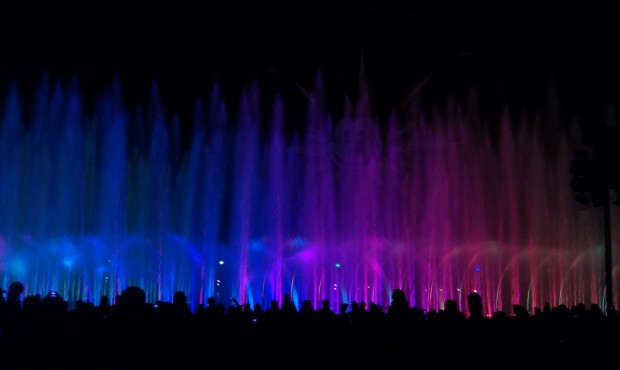 Time for World of Color to close out my evening