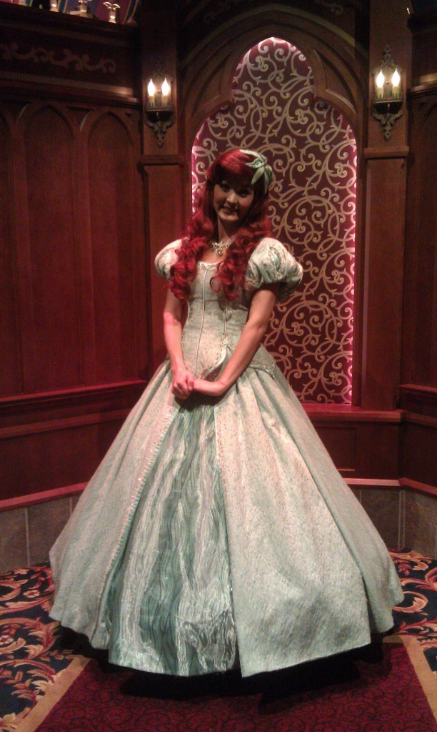 Ariel in the Royal Hall of the Fantasy Faire
