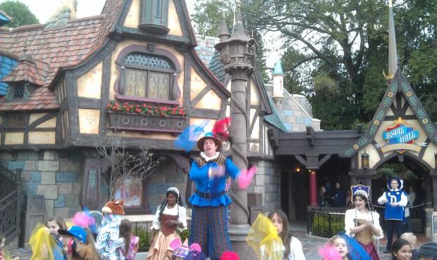 Jester training session in Fantasy Faire