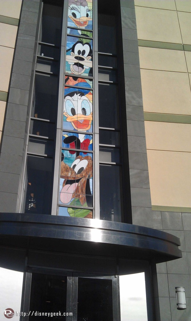 Just arrived at the Disney Studios for the D23 #Fanniversary event.