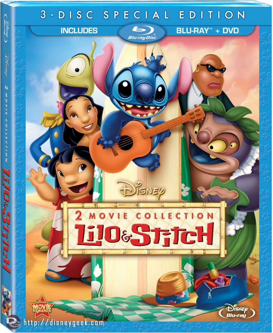 "Home Video Release – ""Lilo & Stitch"" and ""Lilo & Stitch 2: Stitch Has A Glitch"" – June 11, 2013"