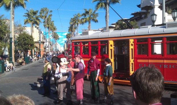 Sieze the Day, Red  Car News Boys #BuenaVistaStreet