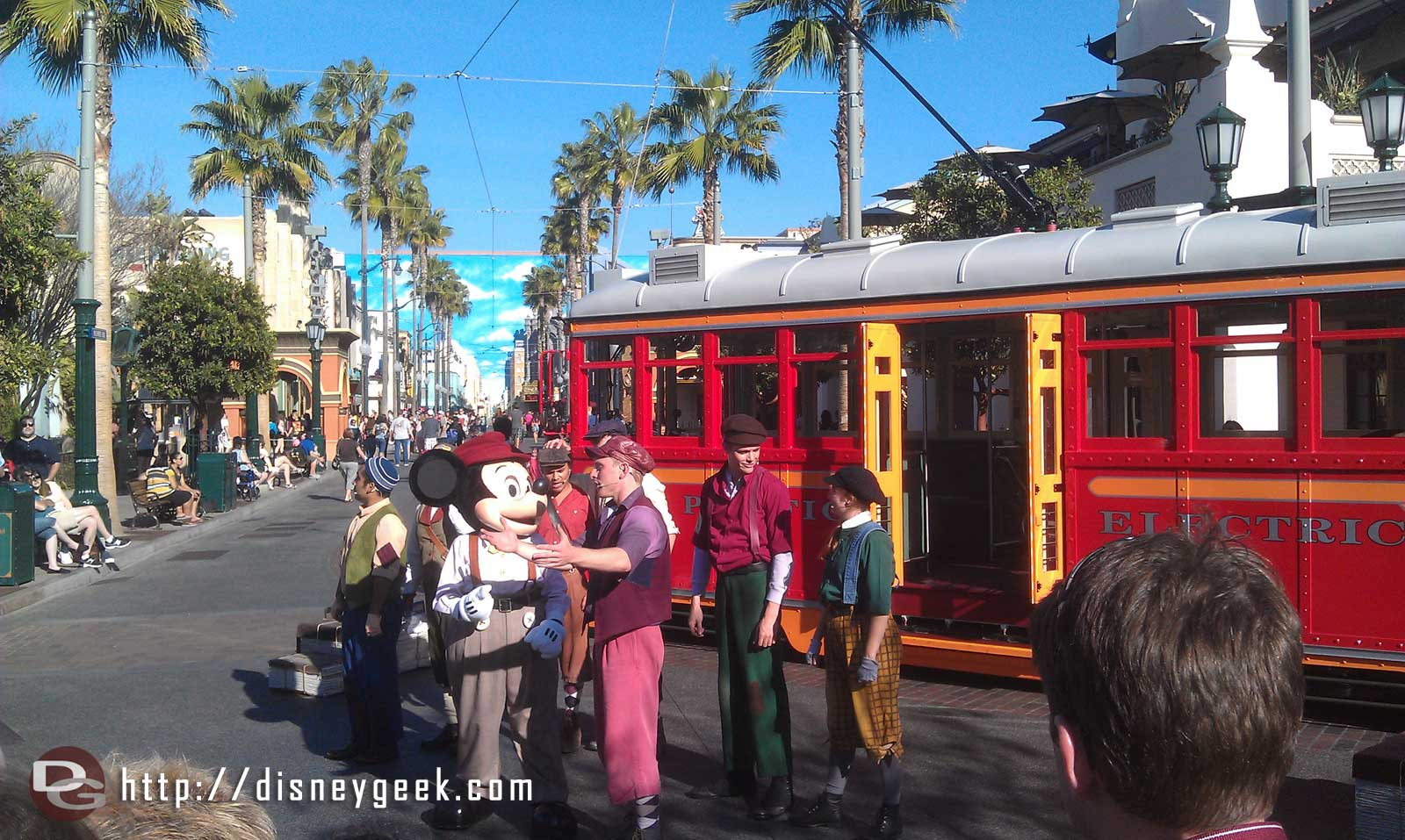 Sieze the Day, Red  Car News Boys #BuenaVistaStreet