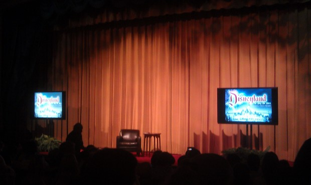 Waiting for the Dave Smith presentation to begin in the Opera House