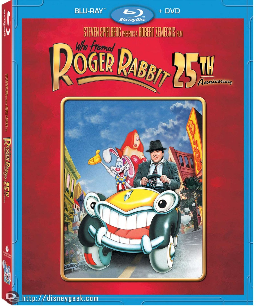 Who Framed Roger Rabbit – Available on Blu-ray Combo Pack March 12, 2013